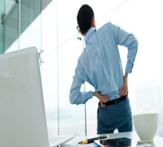 Sitting down at work is affecting your bum (and not in a good way)